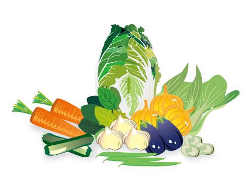 野菜集合イラスト