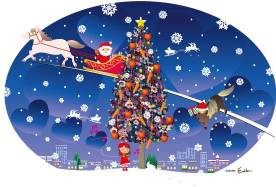 ポニーちゃん クリスマスのお手伝い